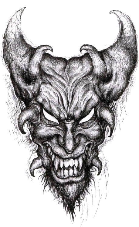 Demon mort vivant page 10 - Dessin de demon ...