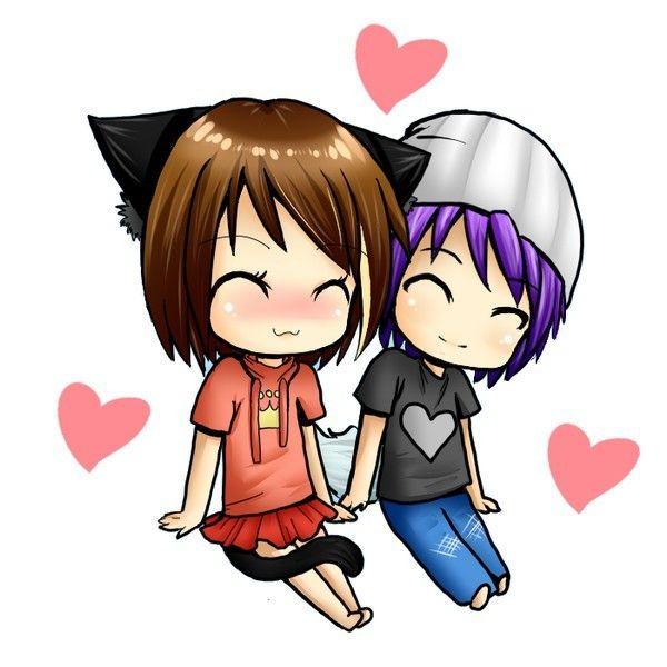 Couple manga - Dessin manga couple ...