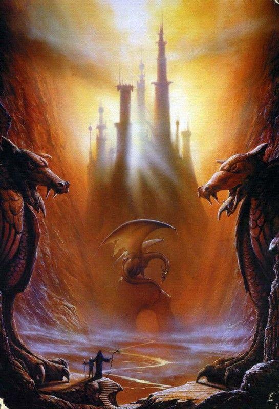dragon dans caverne