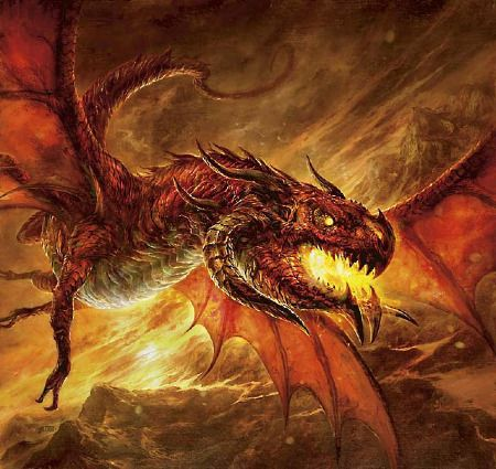Dragon feu - Images de dragons ...