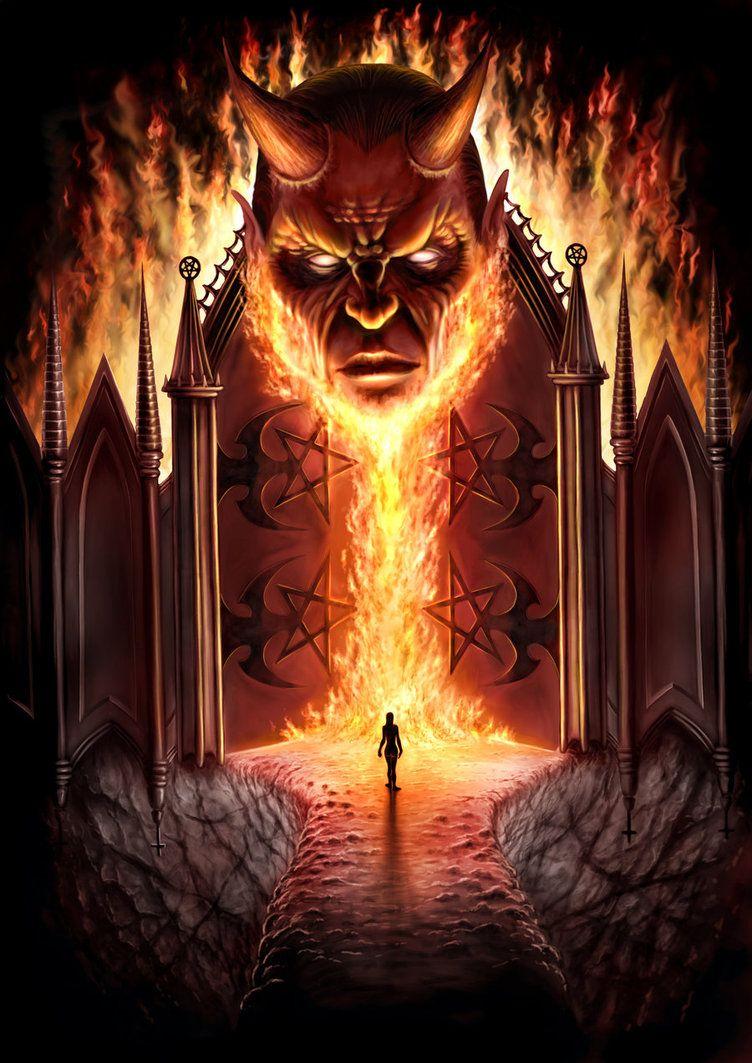 Portes de l 39 enfer for 7 portes de l enfer